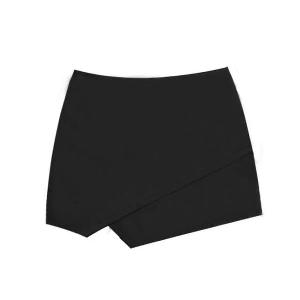 Пола-панталон: черен