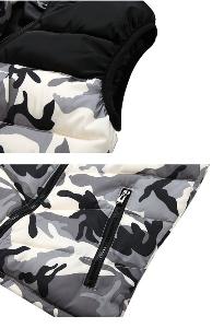 Камуфлажни елеци с качулка - мъжки и дамски - 3 модела с качулка