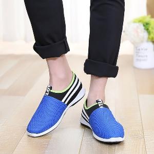 Летни мъжки дишащи обувки за ежедневие, джогинг и лек спорт