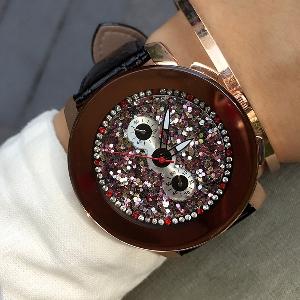 Дамски часовници 3 цвята с голям циферблат