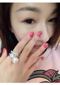 Дамски перлен пръстен