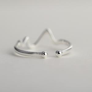 Дамски пръстен в сребрист цвят-1 модел