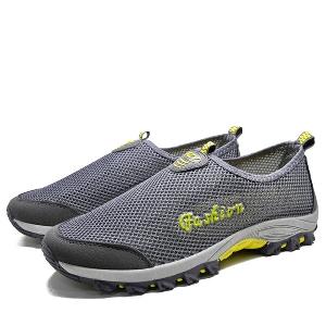 Мрежести дишащи туристически обувки за мъже и жени - 20 топ летни модела - сини, розови, сиви