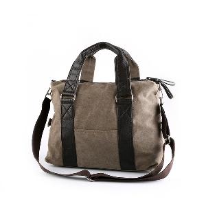 Големи пътни чанти  в черен и кафяв цвят 43х33х14см