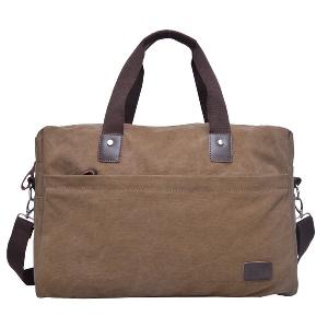 Големи чанти за ръчен багаж в кафяв цвят 45х32х15см