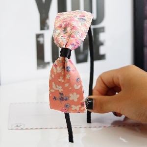 Дамска диадема в много различни цветове-тип  панделка