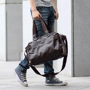 Меки ретро чанти за ръчен багаж изработени от изкуствена кожа - 2 модела