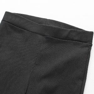 Дамски клин SLIM ефект в черно и бяло с дантела