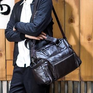Малки и големи черни и кафяви пътни чанти за ръчен багаж - 2 размера