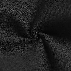 Дамски елегантен клин с бродерия и перлички в черно и бяло