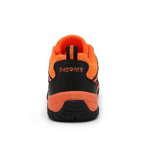 Мъжки туристически водоустойчиви и дишащи мрежести обувки - сиви, оранжеви, жълти и зелени