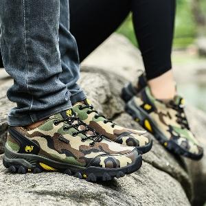 Туристически камуфлажни обувки за мъже и жени - три модела