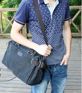Ретро пътни чанти за мъже и жени изработени от памук - 6 модела