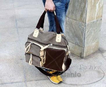 Шарени пътни чанти съставени от памук - 2 модела