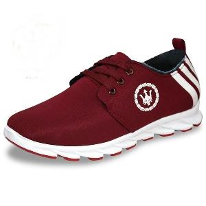 Спортни леки дишащи обувки за мъже - сини, лилави, черни