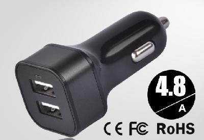 USB 2 порт / зарядно за  автомобил /  iphone 5 / Samsung Galaxy S3 мини