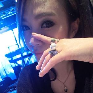 Комплект от 2 дамски пръстена в размер 1.7 см