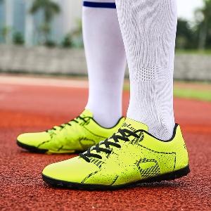 Футболни обувки за мъже и жени - жълти, розови,сини, оранжеви и зелени