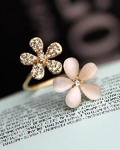 Дамски пръстени - цвете -  5,6 см