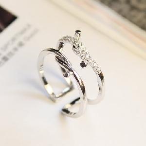 Дамски пръстени в сребрист и златист цвят-15 модела