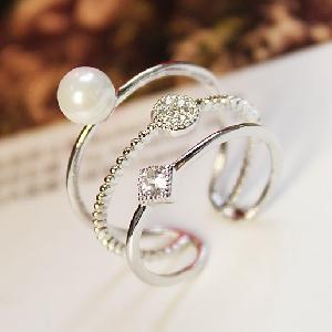 Дамски пръстени два цвята-1,7см.