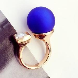 Дамски пръстени в черен,сив,зелен,син и лилав цвят