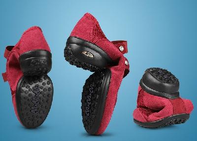 Дамски обувки - 3 модела за танци - червен, черен и тъмнозелен
