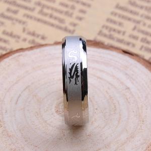 Мъжки пръстени в черен и сребрист цвят