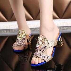 Дамски чехли 3 цвята
