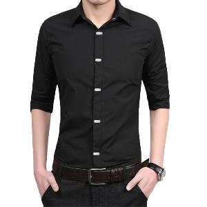 941a57ac39e badu.gr - Μονόχρωμα επίσημα ανδρικά πουκάμισα με μακριά μανίκια - διάφορα  σχέδια σε ...