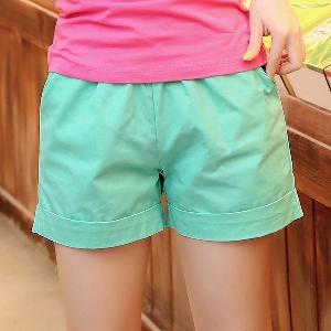 Дамски къси панталони в много различни цветове - 14 модела