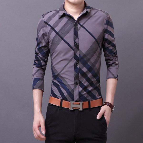 Ανδρικό πουκάμισο με μακριά μανίκια 3 μοντέλα με υλικό βάσης Polyester -  Badu.gr Ο κόσμος στα χέρια σου 3fc98cfc4df