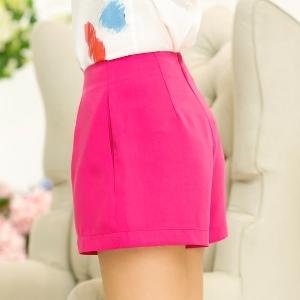 Летни къси дамски панталони в много различни цветове - 18 модела