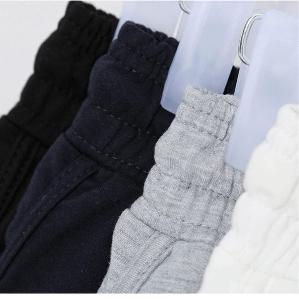 Къси летни дамски панталони в сив,черен и бял цвят - 3 модела