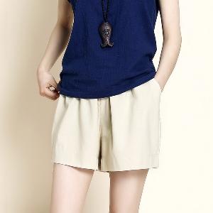 Широки къси дамски панталони - 9 модела