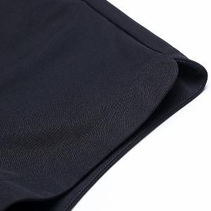 Къси дамски панталони в черен цвят