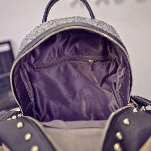 Дамска брокатена раница - в модерни цветове