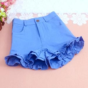 Къси дамски панталони в черен,розов,син и бял цвят - 5 модела