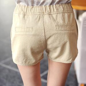 Къси дамски панталони - бял,черен и бежов цвят