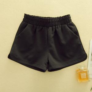 Дамски къси панталони - черен,сив,зелен,розов и бял цвят