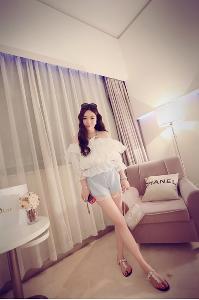 Къси дамски панталони - син,розов,бял и черен цвят