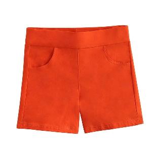 Къси дамски панталони - в черен,розов,червен,жълт,оранжев,син,бежов и лилав цвят