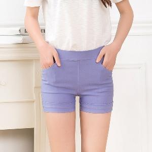 Къси дамски панталони в различни цветове - 13 модела