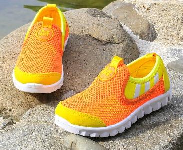 f4bc8eb797f Αθλητικά πάνινα παπούτσια για κορίτσια - 8 μοντέλα με ροζ, πορτοκαλί, γκρι,  κίτρινο