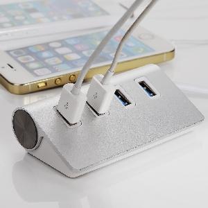 4 порта USB 3.0 Хъб / преносим за