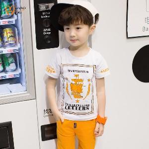 Памучни тениски за момчета -4 модела.