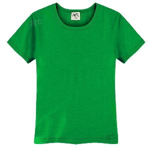 Детски памучни изчистени тениски в осем цвята.