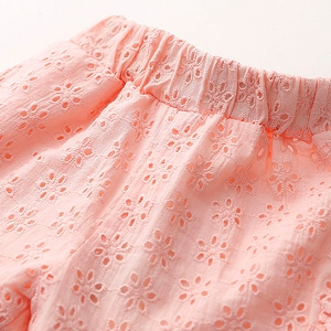 Детски розови къси панталони за момичета - един модел