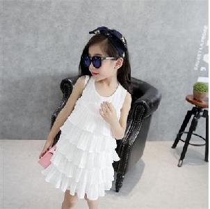 bc0e4845e386 Παιδικά σιφόν φορέματα για μικρές πριγκίπισσες -Λευκό, μαύρο και κόκκινο.