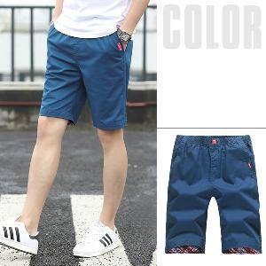 Мъжки къси панталони - в син,бежов,червен,оранжев и зелен цвят